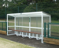 Aluminium Team Shelters 2.5m