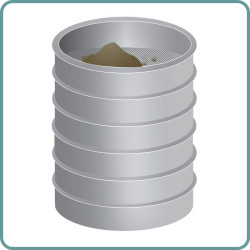 Particle size   seive
