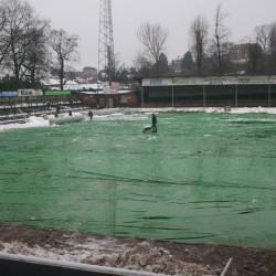 Football Pitch Rain Cover