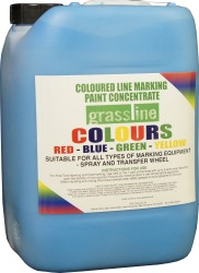 Grassline Coloured Concentrate Line Marker Paint (10 ltr)