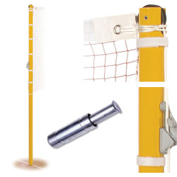 Socketed Competition Badminton Posts