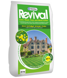 Maxwell Revival Weed, Feed and Moss Killer 20kg