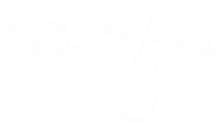 Tebuconazole Displayed Formula