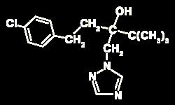 Tebuconazole Displayed Formula