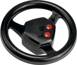 Multi function steering wheel