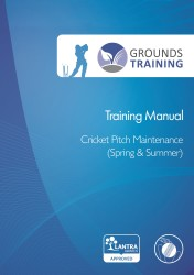 Grounds Training - Cricket Pitch Maintenance (Spring & Summer) Cover