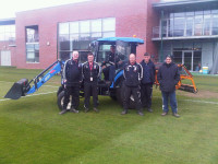 The team at Stoke City FC