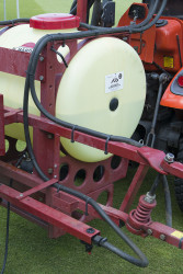 Sprayer set up check pipes for wear