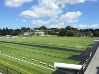 Turf installation at Michaels Avenue reserve