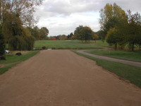 New tee at Foxhills Golf Club and Resort, Surrey, created by the new Speedcut laser grader.JPG