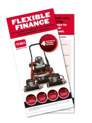 PR4043 finance leaflet