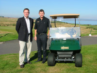 ezgo cars for st andrews hotel