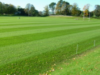 Sedbergh School rugby pitch after