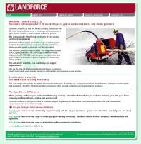 landforce home page screenshot