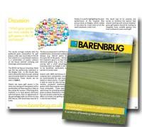 PR4046 golf greens booklet