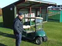 LLanymynec Allen surveys the Junior development course