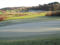 A. View over 4th green and frost Bristol