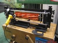 grinding fixture for reels.