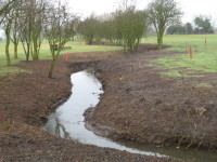D. Ditch & surrounds cleaned and tidied prior to Spring Nottinghamshire