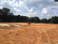 Construction of new practice facility Quail Hollow
