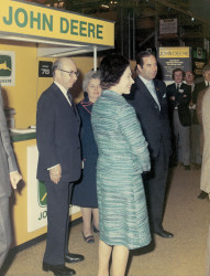 HM The Queen at the Royal Smithfield Show 1970s