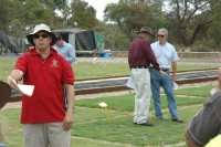 At the February 2010 UWA Turf Research Open Day at UWA's Shenton Park Field Station was Professor Tim Colmer of The University of Western Australia.