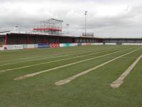 Eastbourne Borough FC after sandslitting.JPG