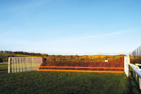 Kelso New chase fence Kelso