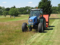 Cutting & collecting deep rough