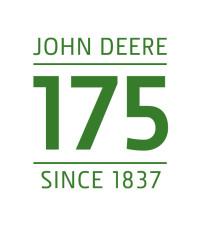 John Deere 175th anniversary logo green