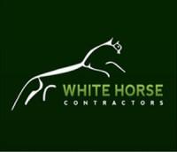 white horse contractors logo