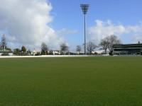 Ready for striping at Seddon Park