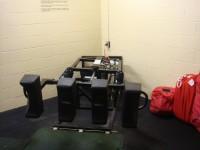 scrum machine inside the building