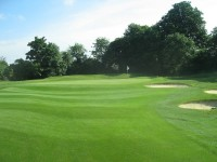 Approach to the 11th green.JPG