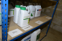 Labelled product racking