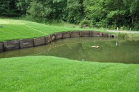 AFTER Lingfield Park Golf Club\'s enlarged pond at the third hole   Copy