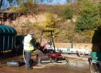 ClearWater system with upgraded washpad and fuel tanks at Beau Desert Golf Club England