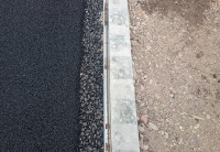 Typical Kerb and Gripper Rail Detail
