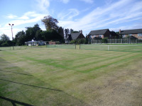 Tennis courts before