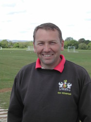Clive Pring, head groundsman Exeter City FC.JPG