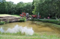 BEFORE Speedcut working on the pond at Lingfield Park Golf Club\'s third hole   Copy