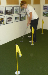 Millfield putting green jpg