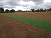 8. New artificial match pitch that is tie in to the new square and existing surrounds