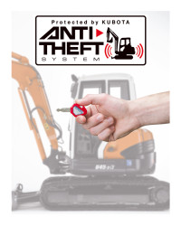 Kubota anti theft system