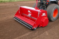 The BLEC Turfmaker Seeder, on show at Saltex