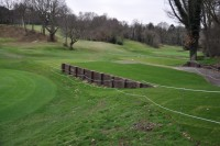 One of Speedcut\'s new raised tees at Chislehurst Golf Club  DSC 0652