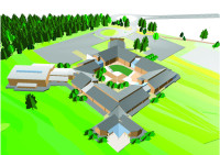 CAD image of St Mary\'s Church of England High School, Cheshunt.jpg
