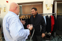 Richard Head, ProQuip\'s Chief Designer sizes up 2012 European Ryder Cup Captain, José María Olazábal