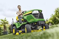 New John Deere X350R lawn tractor A