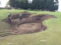 Craigielaw BunkerRevetting4